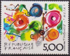 Série Artistique - FRANCE - Peinture Moderne - Oeuvre Originale De Tinguely: Meta - N° 2557 ** - 1988 - Nuevos