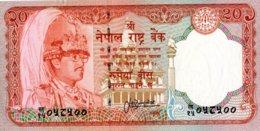 Népal 1981 20  Rupees UNC Neuf   New - Nepal