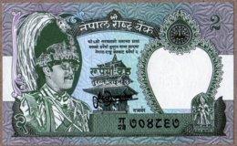 Népal 1981 2 Rupees UNC Neuf   New - Nepal