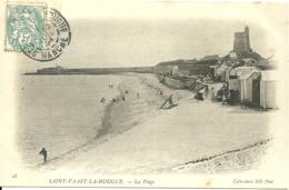 SAINT-VAAST-LA -HOUGUE  - La Plage - Saint Vaast La Hougue