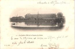 FR34 MONTPELLIER - NP2 - Précurseur - Le Jardin D'été Et Caserne Du Génie - Belle - Montpellier