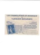 FRANCE Enveloppe CCP Napoléon Bonaparte Reproduction Du Timbre Monaco Yvert N°94PA - Napoleon