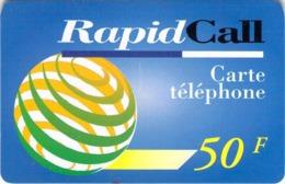 Carte Prépayée  - RAPID CALL  -  Prépaid  - - Frankrijk