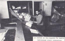 """Lot De 3 Cartes Postales 'Le Centre De Tri De Pantin"""" PTT Cartophilie 1981 - Poste & Facteurs"""