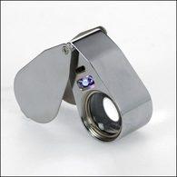 SAFE 4640 UV-Präzisionslupe Mit LED - Pinze, Lenti D'ingrandimento E Microscopi