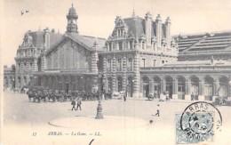 GARES - 62 - ARRAS : La Gare ( SNCF ) La Gare - CPA - Pas De Calais - Stations Without Trains