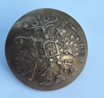 RARES BOUTONS D'UNIFORMES RUSSES D'AVANT 1880 / OLD AND RARE RUSSIAN BUTTON MILITARY BEFORE 1880 - DIAMETER 22 Mm - Buttons