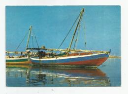 Cpm Arabie Saoudite Jeddah Le Vieux Port De Peche Barque Pecheur - Saudi Arabia