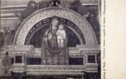 Pavia - Lotto 2 Cartoline PORTICINA DI ACCESSO CAPPELLE DI DESTRA Borgognone E ALTARE MAGGIORE Paliotto, Certosa - R20- - Sculptures
