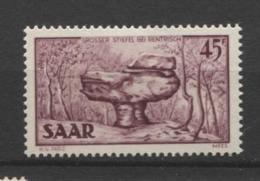 15407 SARRE N°289* 45 F Paysage : La Grande Botte Près De Rentrisch 1951  TB - Unused Stamps