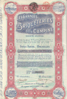 GRANDES BRIQUETERIES DE LA CAMPINE  Beerssee  Brecht Saint Leonard Ryckevorsel Turnhout Raevels - Agriculture