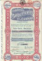 GRANDES BRIQUETERIES DE LA CAMPINE  Beerssee  Brecht Saint Leonard Ryckevorsel Turnhout Raevels - Industrie