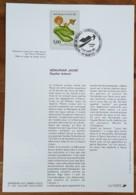 FDC Sur Document - YT N°2769 - NATURE DE FRANCE / FLEURS DES ZONES HUMIDES - 1992 - 1990-1999