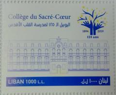 Lebanon 2019 NEW MNH Stamp - Sacre-Coeur School - Libano