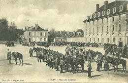 GRAY (70) - Place Des Casernes - Gray