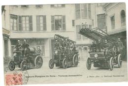 France Sapeurs-Pompiers De Paris (voitures Automobiles ) - Reims