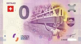 Billet 0 Euro SUISSE  De 2017.1 - Private Proofs / Unofficial