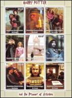 2185/ Bloc Cinéma Neuf ** MNH Tirage Privé Local Stamp Vignette Harry Potter - Kino