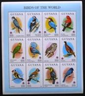 Guyana - 1994 - Birds Of The World - Yv 3550/61 - Vögel