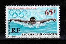 Comores - YV PA 25 N** JO Mexico 1968 Cote 5,50 Euros - Airmail