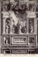 Pavia - Lotto 2 Cartoline DETTAGLIO ALTARE MAGGIORE (S. Da Sesto) E NAVATA TRASVERSALE (Affreschi Con Certosini) - R20- - Sculture