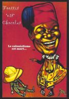 CPM Banania Semaine Anticoloniale Et Antiraciste Par Jihel Tirage Limité En 30 Exemplaires Numérotés Signés Cirque - Advertising