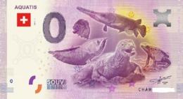 Billet 0 Euro  SUISSE  AQUATIS 2017.1 - EURO