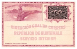 Guatemala Entiers Postaux - TB - Guatemala