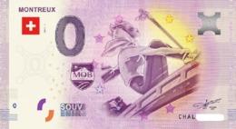 Billet 0 Euro SUISSE  MONTREUX 2017.1 - Private Proofs / Unofficial