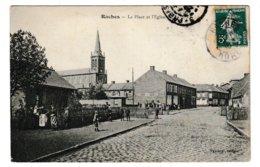 Nord Raches La Place Et L'église - Otros Municipios