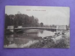 CPA 51 AIGNY LE PONT SUR LE CANAL LAVANDIERE - Frankrijk