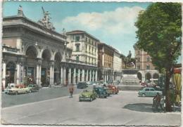 Z5006 Bologna - Via Dell'Indipendenza E Piazza Garibaldi - Auto Cars Voitures / Viaggiata 1961 - Bologna