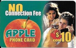 CARTE-PREPAYEE-CANADA-APPLE-10$.CDN-POMME- TBE- - Canada
