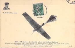 AVIATION Avions ( Précurseurs )  Monoplan ANTOINETTE Piloté Par Hubert LATHAM (1910) - CPA - - ....-1914: Precursors