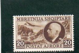 ALBANIE 1939-40 * - Albania