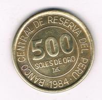 500 SOLES 1984 PERU /8357/ - Peru