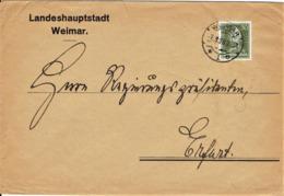 Deutsches Reich - Umschlag Echt Gelaufen / Cover Used (A922) - Briefe U. Dokumente