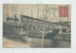 Chatillon-Coligny (45) :  MP De Joseph Colignonà L'entrée Du Pont Fer, Personnage Nommé Par Le Texte En 1905 (animé) PF. - Chatillon Coligny
