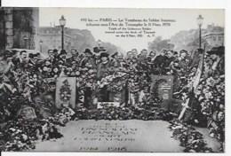 CPA  Inauguration Tombe Du Soldat Inconnu - Oorlog 1914-18