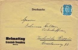 Deutsches Reich - Umschlag Echt Gelaufen / Cover Used (A926) - Briefe U. Dokumente
