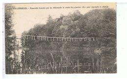 CPA-70-1907-VILLERSEXEL-PASSERELLE FRANCHIE PAR LES ALLEMANDS LE 9 JANVIER 1871-ANIMEE-1 HOMME - Autres Communes