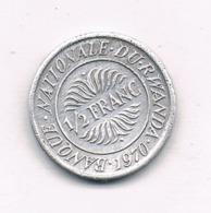 1/2 FRANC 1970 RWANDA /8360/ - Rwanda