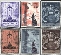 Vatikanstadt 517-522 (complete Issue) Unmounted Mint / Never Hinged 1967 Airmail - Unused Stamps