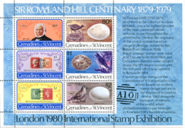 Ref. 311554 * NEW *  - ST. VINCENT AND THE GRENADINES . 1979. CENTENARY OF THE DEATH OF SIR ROWLAND HILL. CENTENARIO DE - St.Vincent (1979-...)