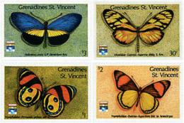 Ref. 244766 * NEW *  - ST. VINCENT AND THE GRENADINES . 1992. BUTTERFLIES. MARIPOSAS - St.Vincent (1979-...)