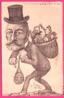 ORENS - Adressé Au Sénateur WALDECK Juste Retour Des Choses D'ici Bas - Panier Sac à Malices Waldeck - PARIS SENAT 1903 - Orens
