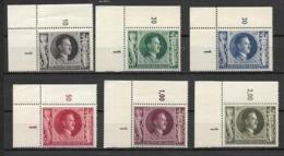 Deutsches Reich 1943 Mi Nr. 844-849 - Ungebraucht