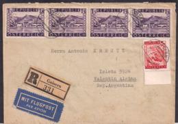 Österreich - 1948 - Brief - Argentinien - 1945-.... 2a Repubblica