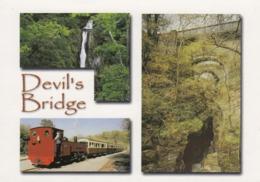 Postcard Devil's Bridge Wales By John Hinde My Ref  B23867 - Cardiganshire