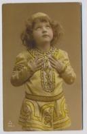 Belle Fille Fillette  Little Girl Mädchen   1909y.  D045 - Portraits